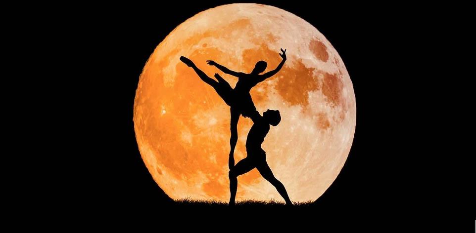Méditation à la lune
